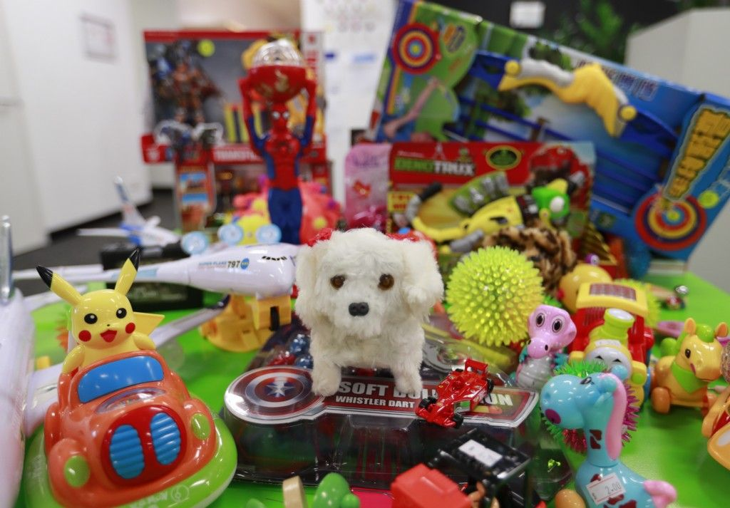 Toys Features in pre-Christmas Safety Blitz