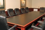 Boardroom Facilities for 10 people.
